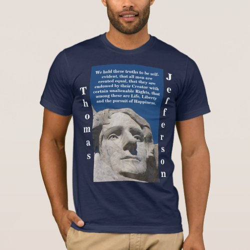 Patriotic Thomas Jefferson Shirt Dark only