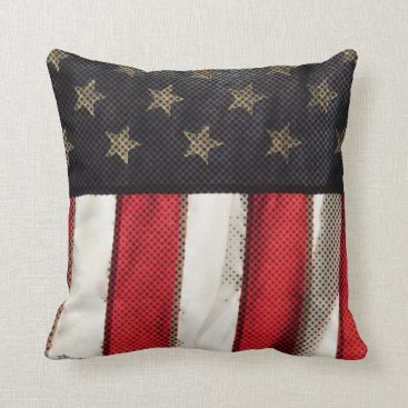 USA Themed Patriotic Throw Pillow