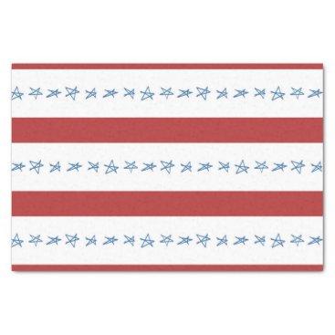 USA Themed Patriotic Tissue Paper
