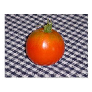Patriotic Tomato Postcard