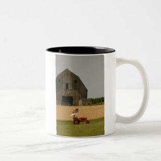 Patriotic Tractor Mug