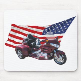 Patriotic Trike Mouse Pad