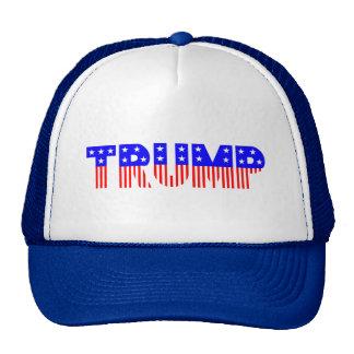 Patriotic TRUMP Baseball Cap - Donald Trump Hat