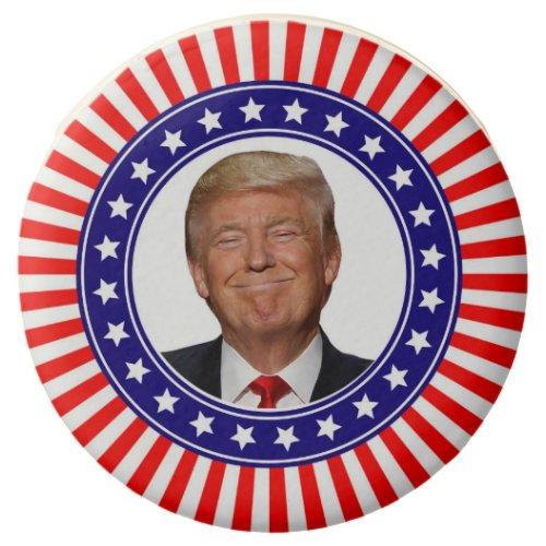 Patriotic Trump Chocolate Covered Oreo
