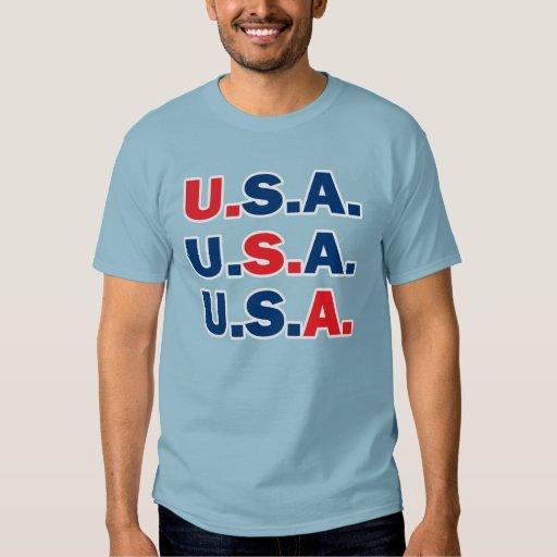 Patriotic U.S.A. shirt. T-shirt