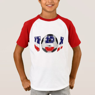 PATRIOTIC U.S.A SOCCER BALL T-Shirt