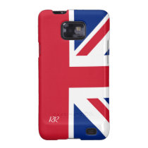 Patriotic Union Jack On Samsung Galaxy Case Galaxy SII Cases at  Zazzle