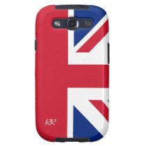 Patriotic Union Jack Samsung Galaxy S3 Case at Zazzle