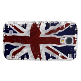 Patriotic Union Jack, UK Union Flag, British Flag Galaxy S4 Cover