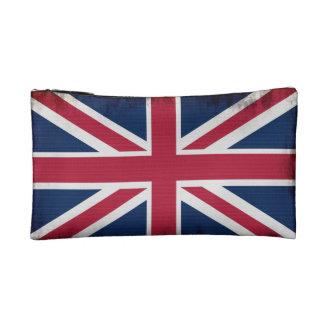 Patriotic Union Jack, UK Union Flag Makeup Bag