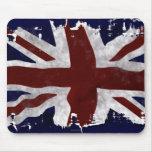 Patriotic Union Jack, UK Union Flag Mousepads