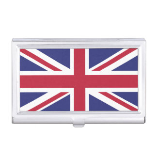 Patriotic United Kingdom Flag Business Card Case