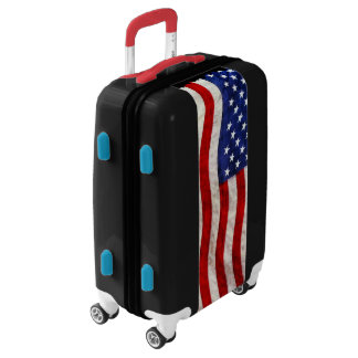 Patriotic US Flag Luggage