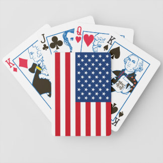 Patriotic US President American Flag Playing Cards