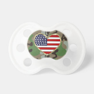 Patriotic USA Camo BooginHead Pacifier