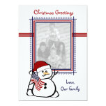 Patriotic USA Christmas Invitation
