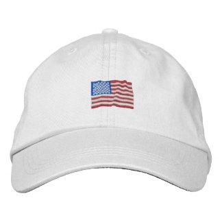 Patriotic USA Embroidered Baseball Cap