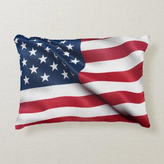 Patriotic USA Flag Decorative Pillow