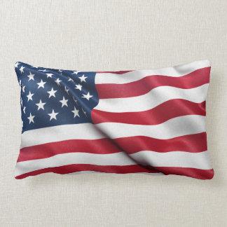 Patriotic USA Flag Throw Pillows