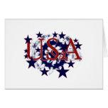 Patriotic Usa Greeting Cards