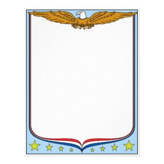 Patriotic USA Letterhead
