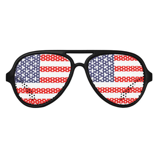 Patriotic USA Party Glasses | American Flag Shades