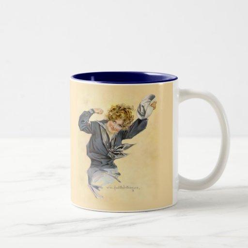 Patriotic USA - Sailor Girl Mugs