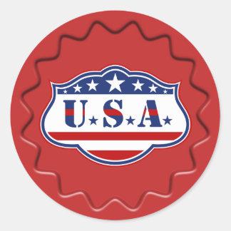 Patriotic USA Sign Wax Seal