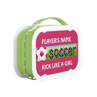 Patriotic USA Soccer Lunch Box