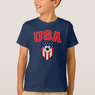 Patriotic USA Soccer T-Shirt
