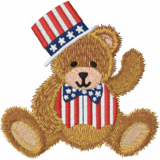 Patriotic USA Teddy Bear