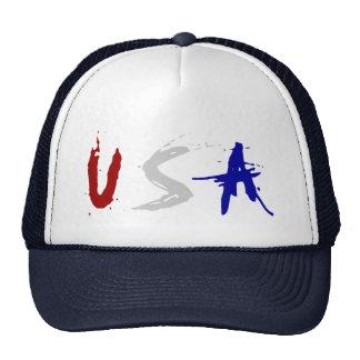 Patriotic USA Truckers Hat