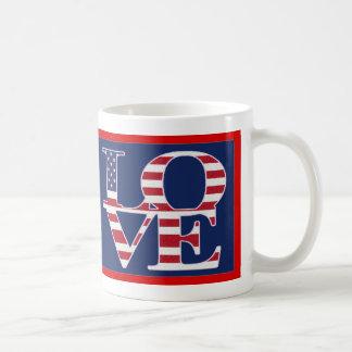 Patriotic Valentine's Day Mugs