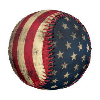 Patriotic Vintage American Flag Baseball