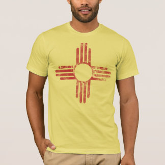 Patriotic Vintage Grunge Flag of New Mexico T-Shirt