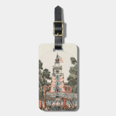 Patriotic Vintage Us Flags 1894 Luggage Tag at Zazzle