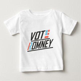 Patriotic Vote Romney Baby T-Shirt