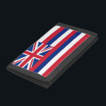"""Patriotic wallet with Flag of Hawaii<br><div class=""""desc"""">Elegant,  patriotic pocket wallet with Flag of Hawaii,  United States of America. This product its customizable.</div>"""