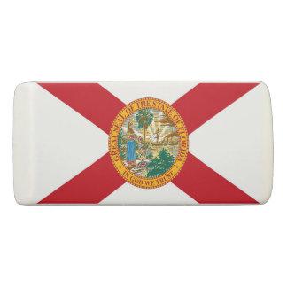 Patriotic Wedge Eraser with flag of Florida