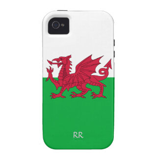 Patriotic Welsh Flag Design iPhone 4 Tough iPhone 4/4S Cover