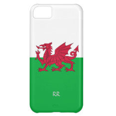 Patriotic Welsh Flag Design Iphone 5 Case at Zazzle