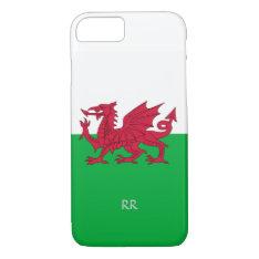 Patriotic Welsh Flag Design Iphone 8/7 Case at Zazzle
