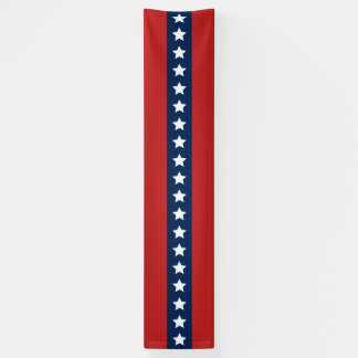 red white and blue indoor outdoor banners zazzle. Black Bedroom Furniture Sets. Home Design Ideas