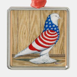 Patriotic WOE Tumbler Metal Ornament