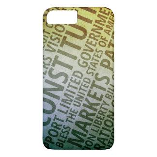 Patriotic Words of America iPhone 8 Plus/7 Plus Case