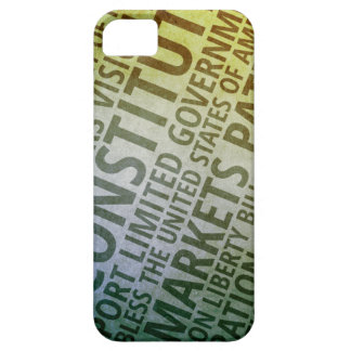 Patriotic Words of America iPhone SE/5/5s Case