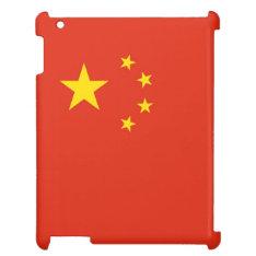 Patriotic Yellow Stars Red Flag China Ipad Ipad Cover at Zazzle