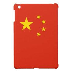 Patriotic Yellow Stars Red Flag China Ipad Mini Ipad Mini Case at Zazzle
