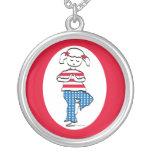 Patriotic Yoga Girl Jewelry