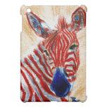 Patriotic Zebra IPad Case